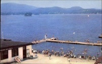 Pontoosuc Lake in the 1960s as a center for recreation